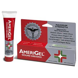 AmeriGel Hydrogel Wound Dressing - 1 oz. tube