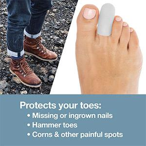 Dr. Mechanik's Silicone Gel Toe Cap and Protector
