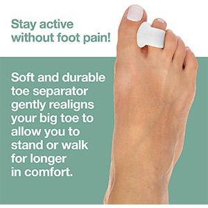 Dr. Mechanik's Toe Separators