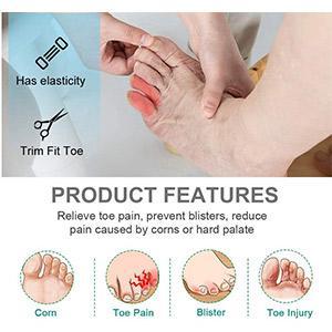Dr. Mechanik's Silicone Gel Toe Sleeve Protector